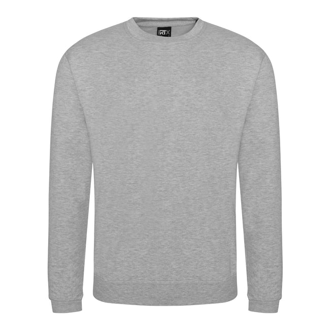 Heather Grey - Front - Pro RTX Mens Pro Sweatshirt