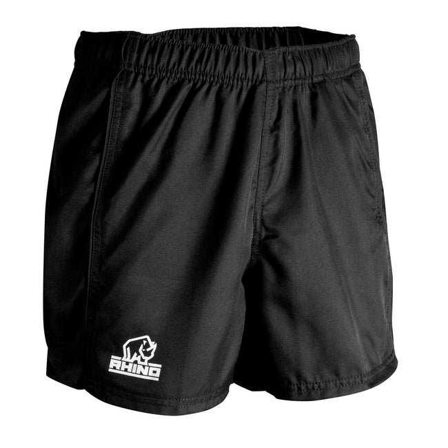 White - Front - Rhino Mens Auckland Rugby Shorts