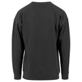 Grey - Front - Build Your Brand Mens Crew Neck Plain Sweatshirt