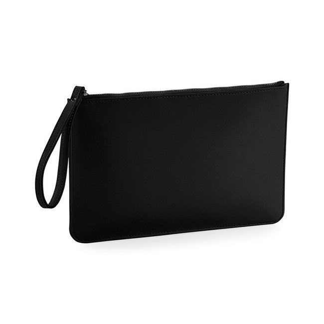 Black-Black - Front - Bagbase Boutique Accessory Pouch