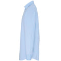 Pale Blue - Side - Premier Mens Stretch Fit Poplin Long Sleeve Shirt