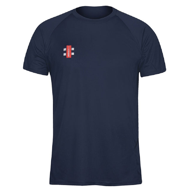 Navy - Front - Gray-Nicolls Mens Matrix Short Sleeve T-Shirt