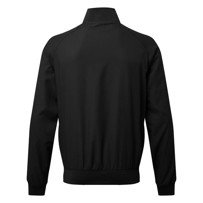 Navy - Front - Asquith & Fox Mens Harrington Jacket