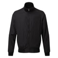 Black - Front - Asquith & Fox Mens Harrington Jacket