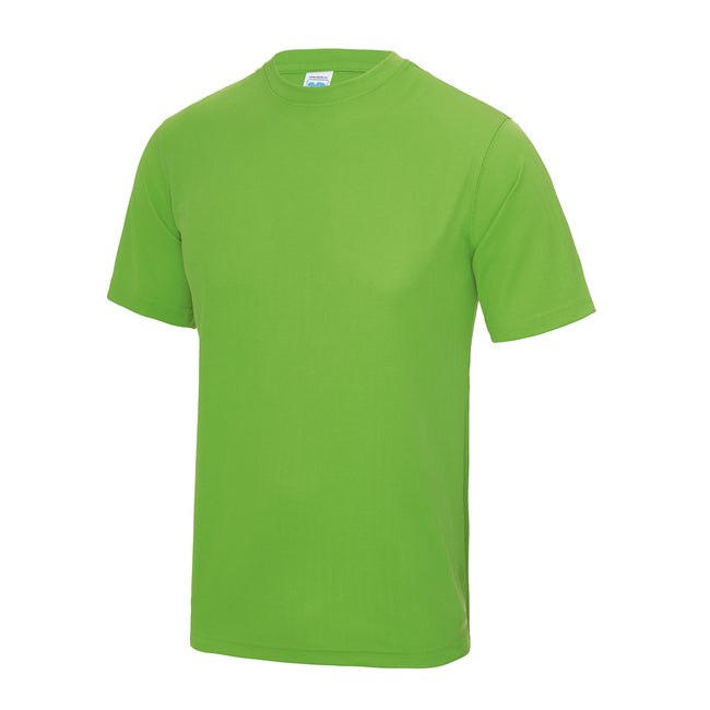 Gold - Side - Just Cool Mens Performance Plain T-Shirt