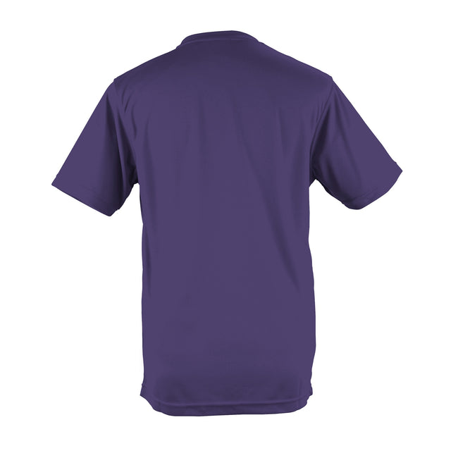 Olive - Back - Just Cool Mens Performance Plain T-Shirt
