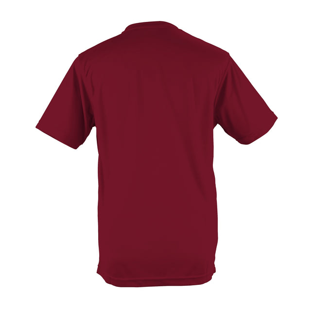 Olive - Lifestyle - Just Cool Mens Performance Plain T-Shirt