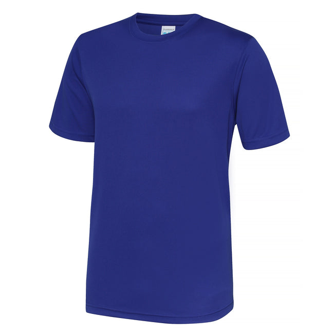 Oxford Navy - Front - Just Cool Mens Performance Plain T-Shirt