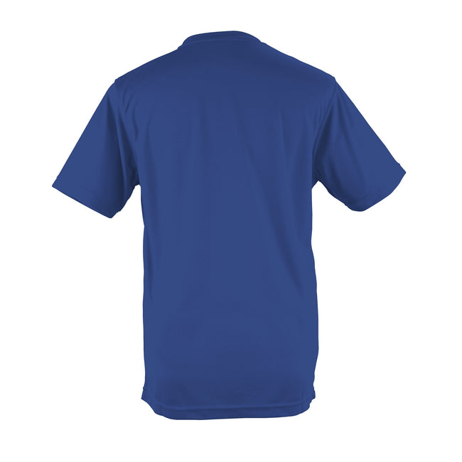 Plum - Front - Just Cool Mens Performance Plain T-Shirt