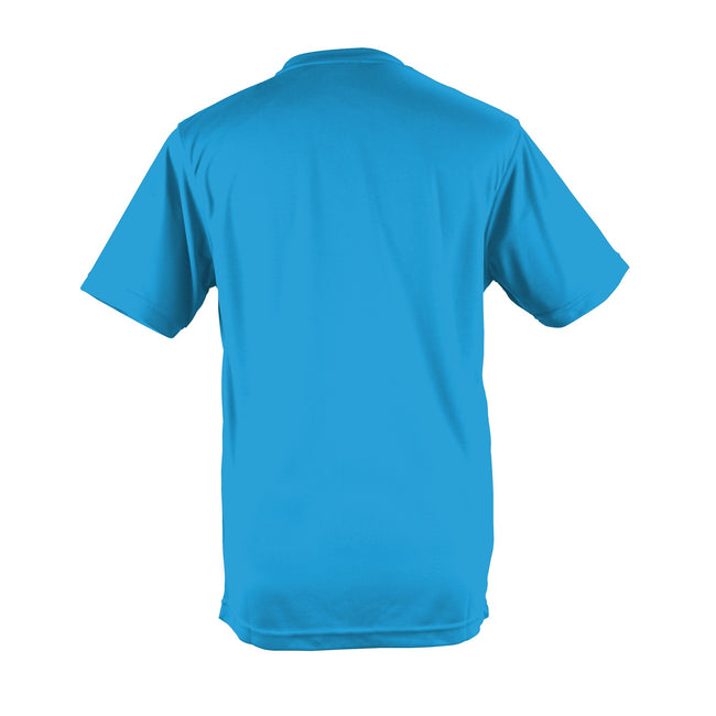 Plum - Side - Just Cool Mens Performance Plain T-Shirt