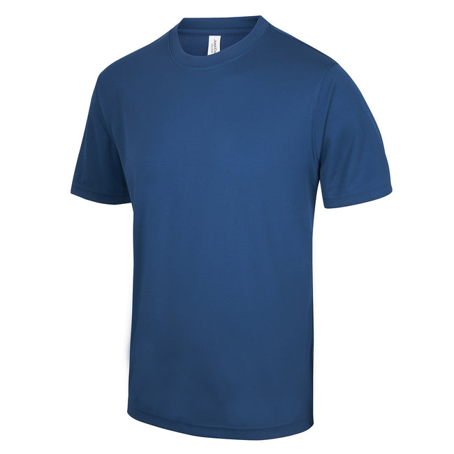 Sapphire Blue - Side - Just Cool Mens Performance Plain T-Shirt