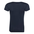 Heather Grey - Front - Just Cool Womens-Ladies Sports Plain T-Shirt