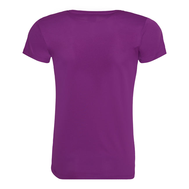 Oxford Navy - Back - Just Cool Womens-Ladies Sports Plain T-Shirt