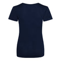 Reflex Blue - Back - Just Cool Womens-Ladies Sports Plain T-Shirt