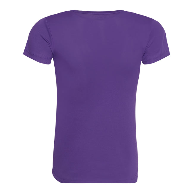 Royal Blue - Front - Just Cool Womens-Ladies Sports Plain T-Shirt