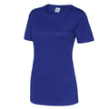 Oxford Navy - Side - Just Cool Womens-Ladies Sports Plain T-Shirt