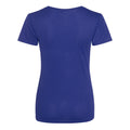 Sapphire Blue - Front - Just Cool Womens-Ladies Sports Plain T-Shirt