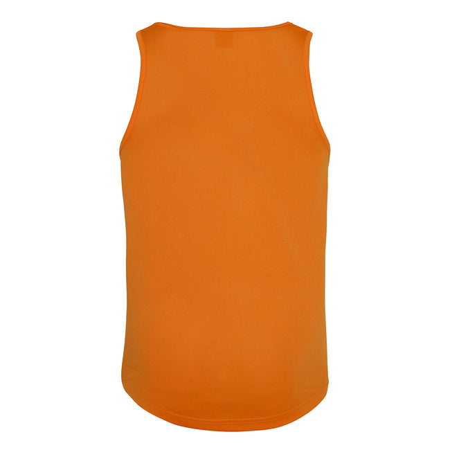 Kelly Green - Back - Just Cool Mens Sports Gym Plain Tank - Vest Top
