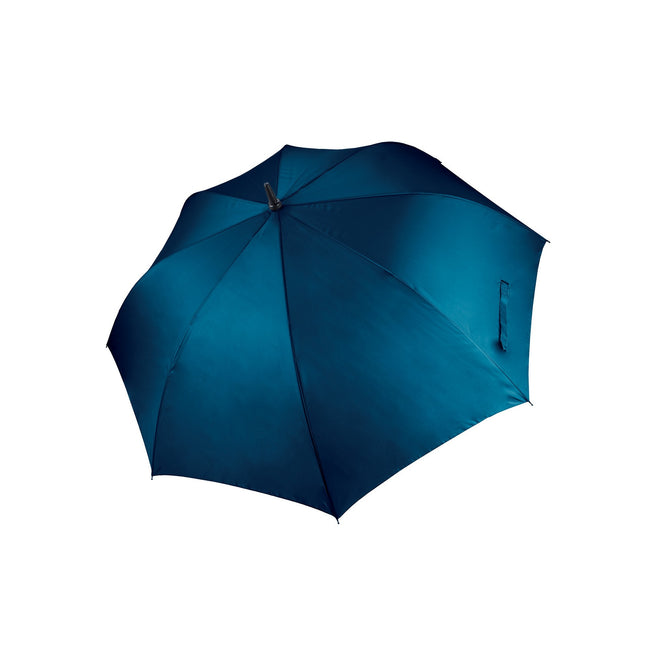 Navy - Front - Kimood Unisex Large Plain Golf Umbrella (Pack of 2)