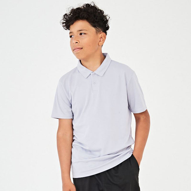 Bottle Green - Front - Just Cool Kids Unisex Sports Polo Plain Shirt