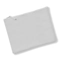 Light Grey - Front - Westford Mill Canvas Accessory Case (Pack of 2)
