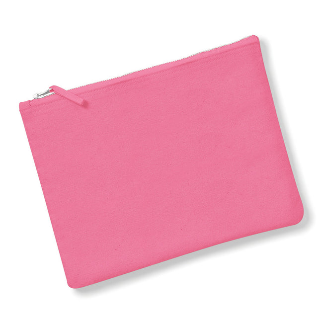 True Pink - Front - Westford Mill Canvas Accessory Case (Pack of 2)