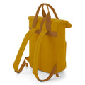 Navy Dusk - Front - BagBase Twin Handle Roll-Top Backpack