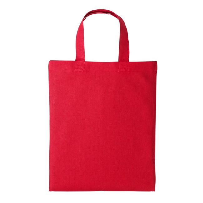 Fire Red - Front - Nutshell Mini Shopping Bag
