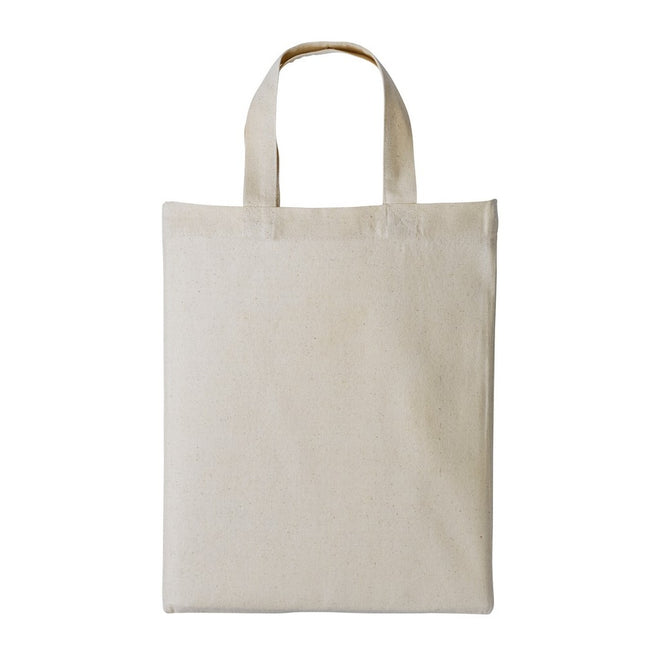 Natural - Front - Nutshell Mini Shopping Bag