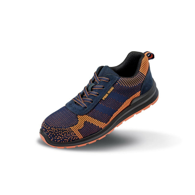 Navy-Orange - Front - Result Work Guard Adults Unisex Hardy Safety Trainer