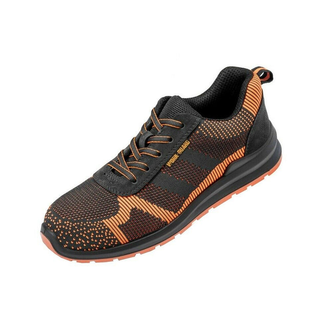 Black-Orange - Front - Result Work Guard Adults Unisex Hardy Safety Trainer