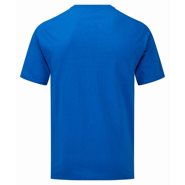 Royal Blue - Side - Fruit of the Loom Unisex Adults Iconic 165 classic T-Shirt