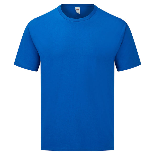 Royal Blue - Front - Fruit of the Loom Unisex Adults Iconic 165 classic T-Shirt