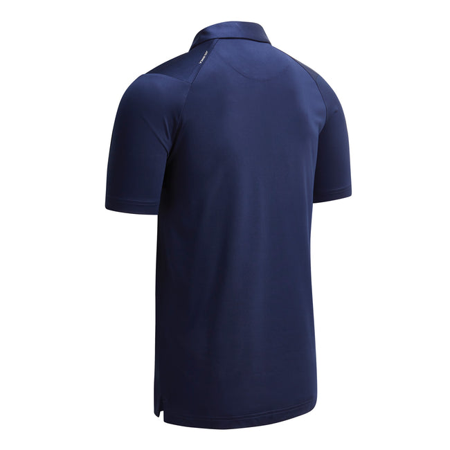 Peacoat Navy - Back - Callaway Mens Swing Tech Solid Colour Polo Shirt
