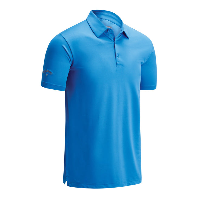 Spring Break Sky - Front - Callaway Mens Swing Tech Solid Colour Polo Shirt