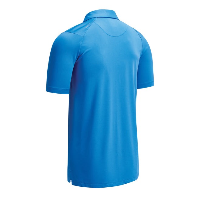Spring Break Sky - Back - Callaway Mens Swing Tech Solid Colour Polo Shirt