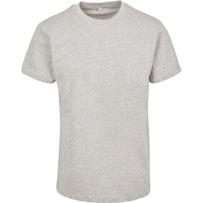 Heather Grey - Front - Build Your Brand Unisex Adults Premium Combed Jersey T-Shirt