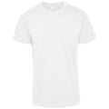White - Front - Build Your Brand Unisex Adults Premium Combed Jersey T-Shirt