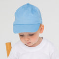 Pale Blue - Back - Larkwood Baby Unisex Toddler Baseball Cap