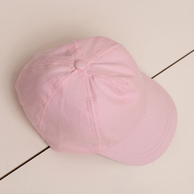 Pale Pink - Back - Larkwood Baby Unisex Toddler Baseball Cap