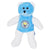 Blue-White - Front - Manchester City FC Childrens-Kids Bear Contrast