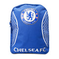 Blue-White - Front - Chelsea FC Official Swerve Backpack
