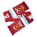 Claret-Blue - Front - West Ham Stripe Scarf