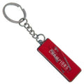 Red-Silver - Front - Liverpool FC Champions Of Europe 2019 Metal Keyring
