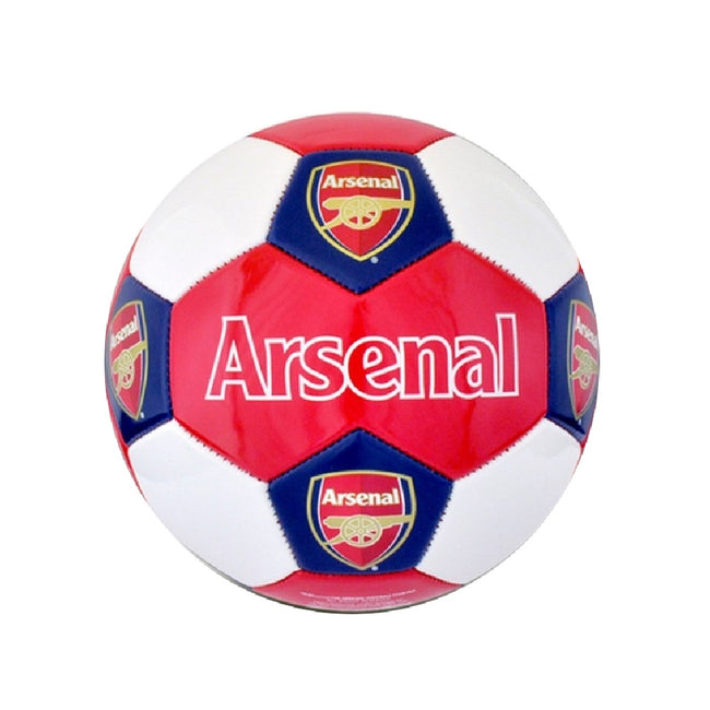 Red-White - Front - Arsenal FC Crest Football