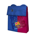 Blue-Scarlet - Front - FC Barcelona Official Action Pocket Football Crest Mini Shoulder Bag