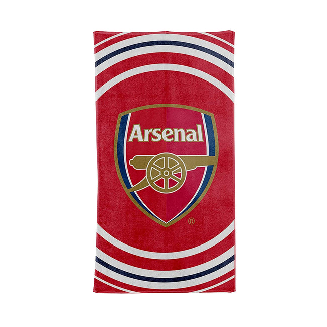 Red - Front - Arsenal FC Pulse Towel