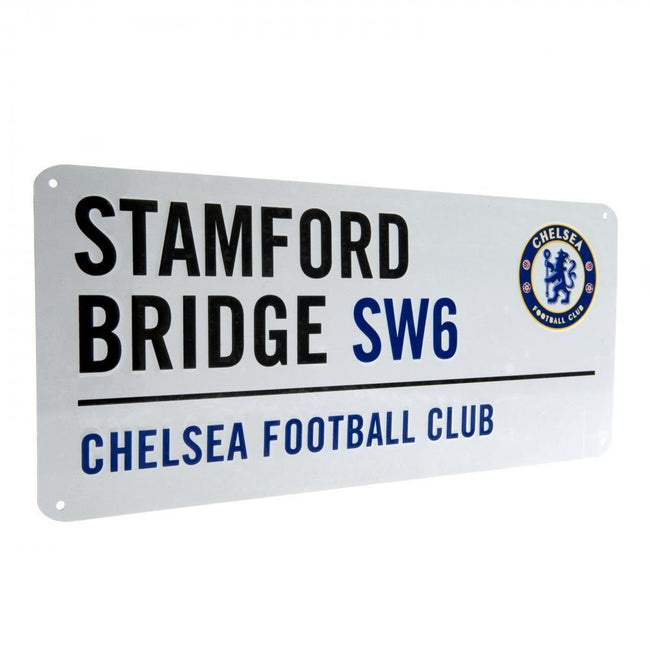 Blue - Front - Chelsea FC Official Street Sign