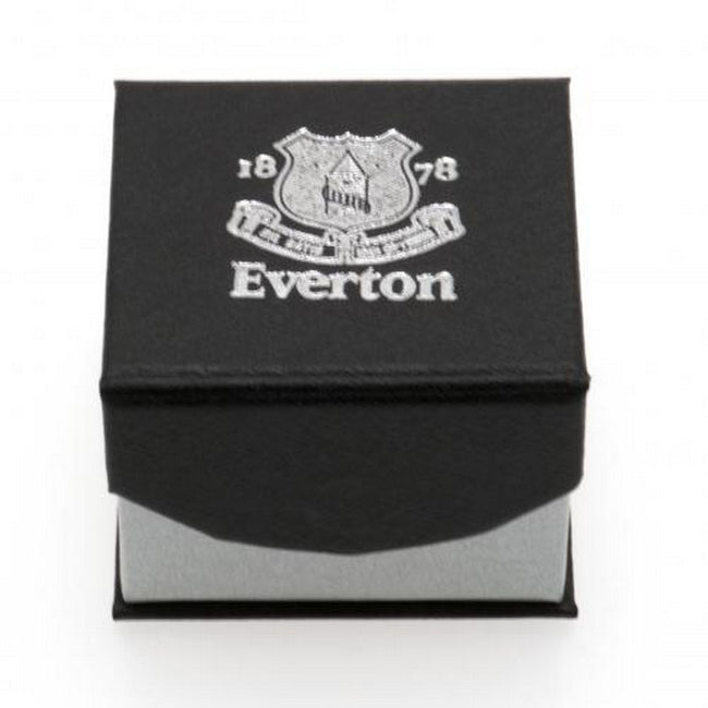 Silver - Side - Everton FC Band Ring