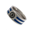 Silver-Blue - Back - Chelsea FC Colour Stripe Ring